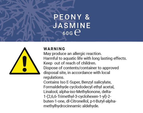 Botanical Forrest - Peony & Jasmine 60g (Wax Melts)